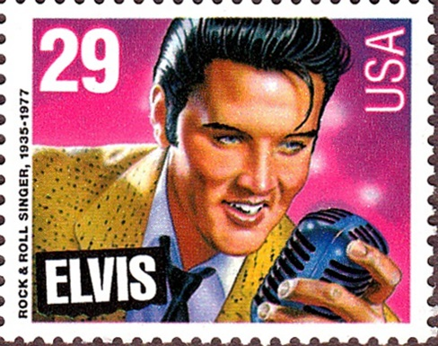 USA 1992 Elvis (with no last name)