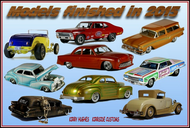 2015 models by Kirby collage