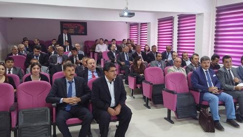 Zile'de Maarif Müfettişleri Grup Başkanlığı okul müdürleri ile bilgilendirme toplantısı yapıldı