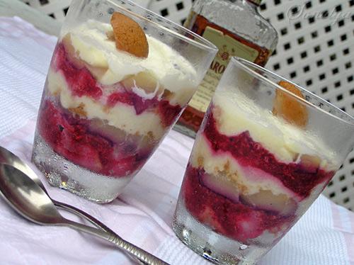 Trifle с Малиной и Грушами - 2